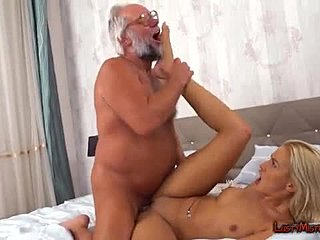 Young, Handjob, Blonde, Old, Blowjob, High definition, Nasty