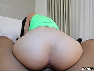 Boobs, Ass, Big tits, Sucking, Huge, Interracial, Brunette