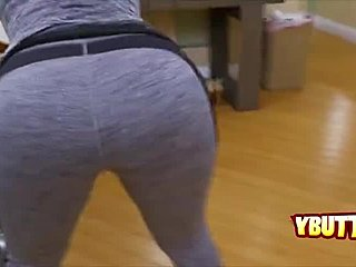 German, Bent over, Ass, Huge, Fucking, Doggystyle, Blonde