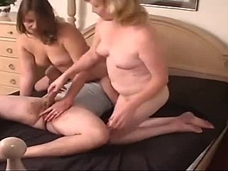 Mama a opatrovateľka porno