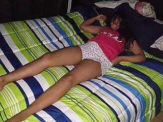 Mädchen Schlafen gefickt College College